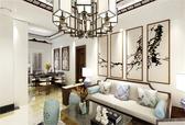 110平米 | 新中式 | 两室两厅 |现代又有中式的文化韵味!