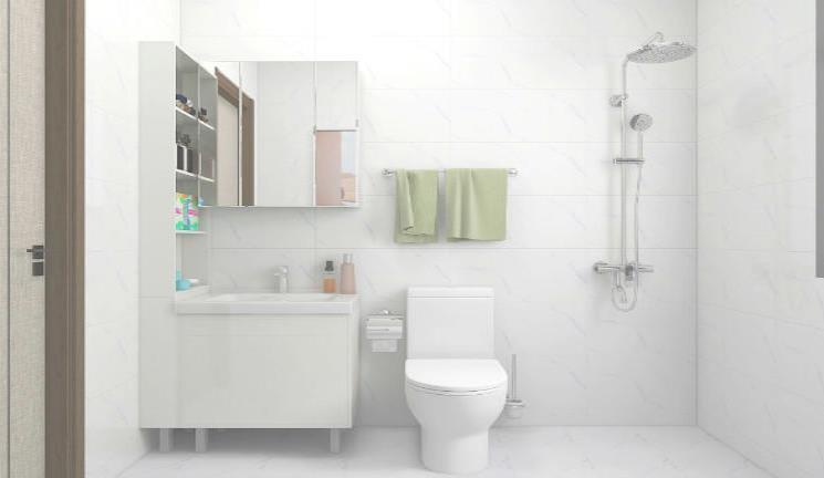 如何让小卫生间空间变大?扩容技巧来了!