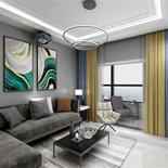 现代简约风的客厅,简洁明快又舒适,这样的装修你可喜欢!