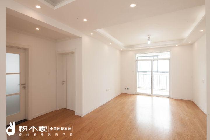 西安110平三室兩廳的硬裝設計圖紙-1