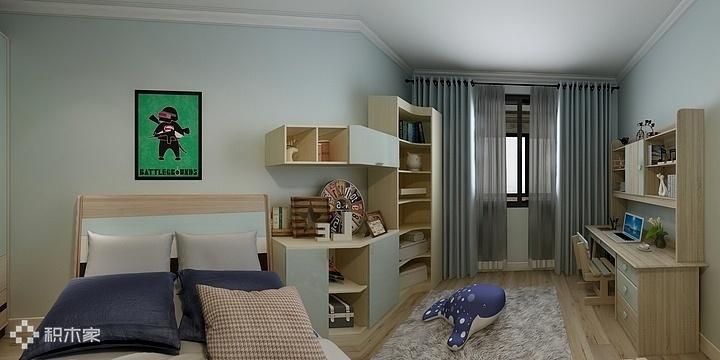 4积木家现代简约儿童房效果图.jpg