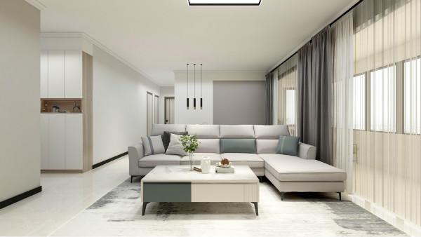 沙發背景墻有門怎么裝修?看看設計師的建議!