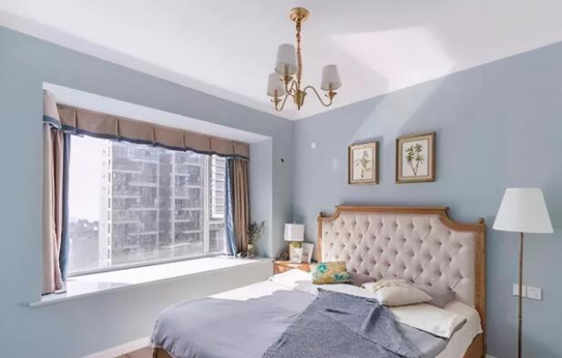 卧室装修墙壁和灯光选什么颜色-2