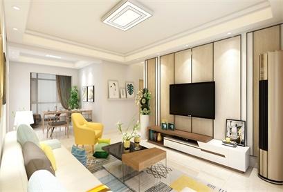120㎡   现代简约   两室两厅   简洁温馨