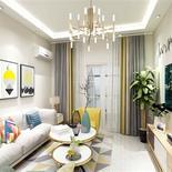 现代简约风格客厅效果图,为生活增添一份美。