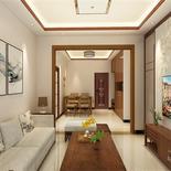 95平米新中式风格家居装修,至简至美,理想中家的样子