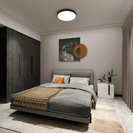 卧室衣柜做到顶,石膏线怎么处理?