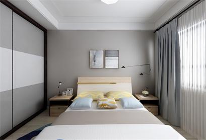 惊艳!这个北欧风卧室设计太美了,轻奢大气颜值爆表!