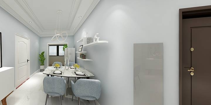 积木家现代简约】客厅和餐厅就该这么装修!装修效果图