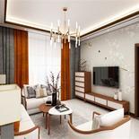 新中式装修,120平米三室两厅,美到骨子里的中国风!
