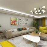 简约北欧风格的家,就喜欢这种简单三室两厅的美,想了解看这里