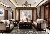 180㎡ | 新中式 |三室两厅 |  具有当代艺术气息的东方古典装修风格