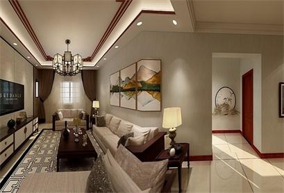 积木家两室两厅装修效果图