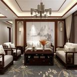180平米新中式风,具有当代艺术气息的东方古典装修风格