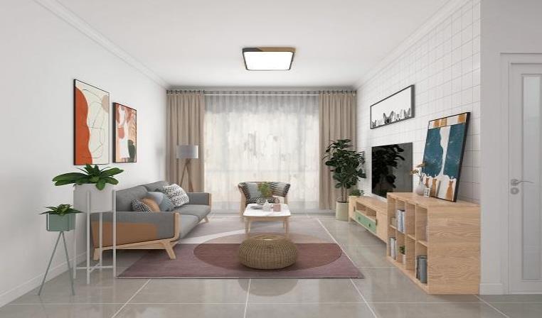 2021客厅流行的地砖颜色有哪些?这些颜色百搭又耐看!