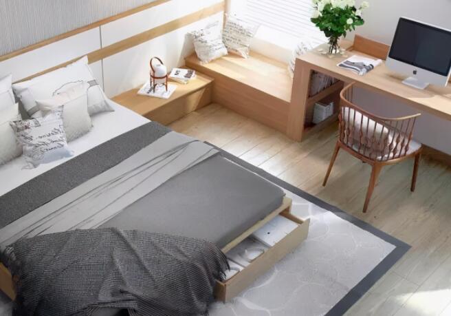 卧室装修墙壁和灯光选什么颜色-1