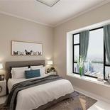 现代简约风格,精美卧室装修效果图。