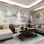 230㎡新中式风,既有东方韵味又现代时尚